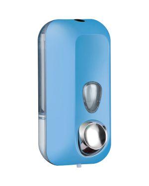 Dispenser sapone liquido 0,55lt azzurro soft touch A71401AZ 8020090081903 A71401AZ_73963