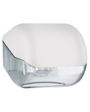 Dispenser carta igienica rt - interfogliata bianco soft touch A61900BI 8020090041983 A61900BI_73964 by Mar Plast
