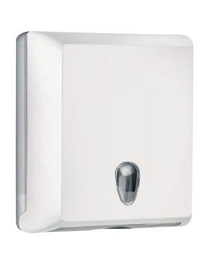 Dispenser asciugamani piegati c - z bianco soft touch A70610EBI 8020090042102 A70610EBI_73966