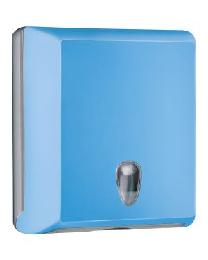 Dispenser asciugamani piegati c - z azzurro soft touch A70610EAZ 8020090081682 A70610EAZ_73967