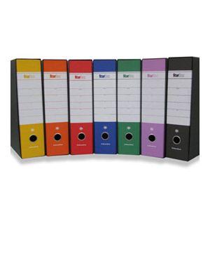 Registratore starbox f.to protocollo dorso 8cm giallo starline/sfuso STL4003 sfuso_STL4003S