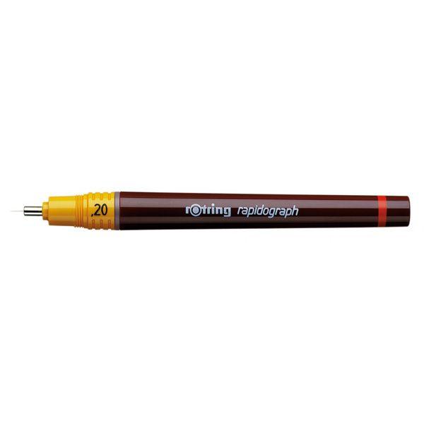 1903236 Rotring Rapidograph penna per disegno tecnico 0,20 mm