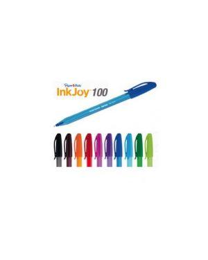 Penna sfera inkjoy stick 100 colori assortiti 1.0mm papermate CONFEZIONE DA 12 S0975420_68124
