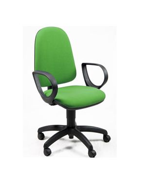 Sedia operativa jusb verde c/bracc. JUSB/EV_73367 by Unisit