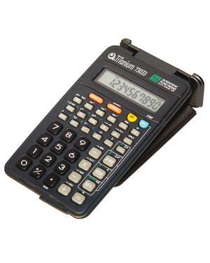 Calcolatrice scientifica 10 cifre 73033 titanium SC107B 8025133026750 SC107B_73033 by Titanium