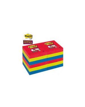 Blocco 90foglietti post-it®super sticky 47.6x76mm 622-12ss-jp bora bora Confezione da 12 pezzi 76594_71244 by Post-it