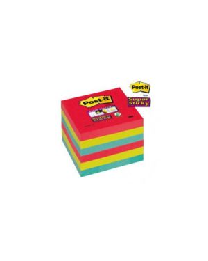 Blocco 90foglietti post-it®super sticky 76x76mm 654-6ss-jp bora bora Confezione da 6 pezzi 76431_71245 by Post-it