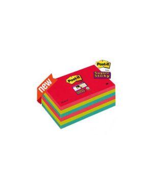Blocco 90foglietti post-it®super sticky 76x127mm 655-6ss-jp bora bora Confezione da 6 pezzi 76501_71246 by Post-it