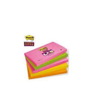Blocco 90foglietti post-it®super sticky 76x127mm 655s-n cape town Confezione da 5 pezzi 74158_47459 by Post-it