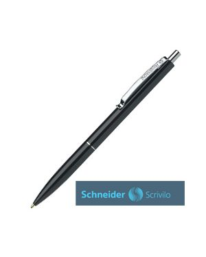 Penna a sfera a scatto k15 punta media nero schneider Confezione da 50 pezzi 3081_73485