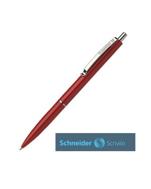 Penna a sfera a scatto k15 punta media rosso schneider Confezione da 20 pezzi 3082_73486