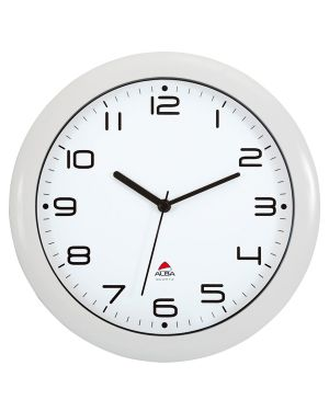 Orologio da parete hornew Ø30cm bianco alba HORNEW-BC 3129710013975 HORNEW-BC_74380 by Alba