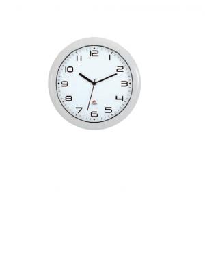 Orologio da parete hornew Ø30cm bianco alb HORNEW-BC_74380