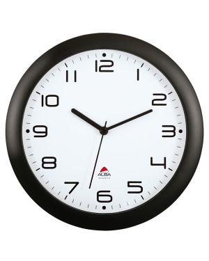 Orologio da parete hornew Ø30cm nero alba HORNEW-N 3129710013944 HORNEW-N_74382