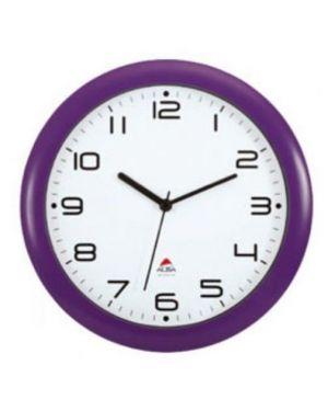 Orologio da parete hornew Ø30cm viola alb HORNEW-P_74383