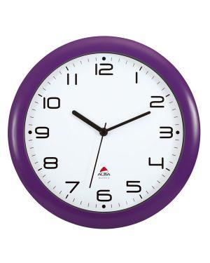 Orologio da parete hornew Ø30cm viola alba HORNEW-P 3129710013951 HORNEW-P_74383