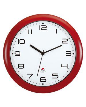 Orologio da parete hornew Ø30cm rosso alba HORNEW-R 3129710013968 HORNEW-R_74385
