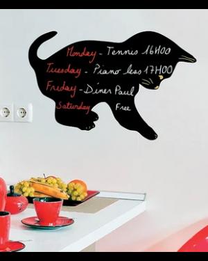 Lavagna da parete 'gatto' silhouette securit FB-CAT 8718226493354 FB-CAT_74541 by Securit