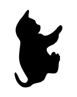 Lavagna da parete 'gatto' silhouette securit FB-CAT 8718226493354 FB-CAT_74541