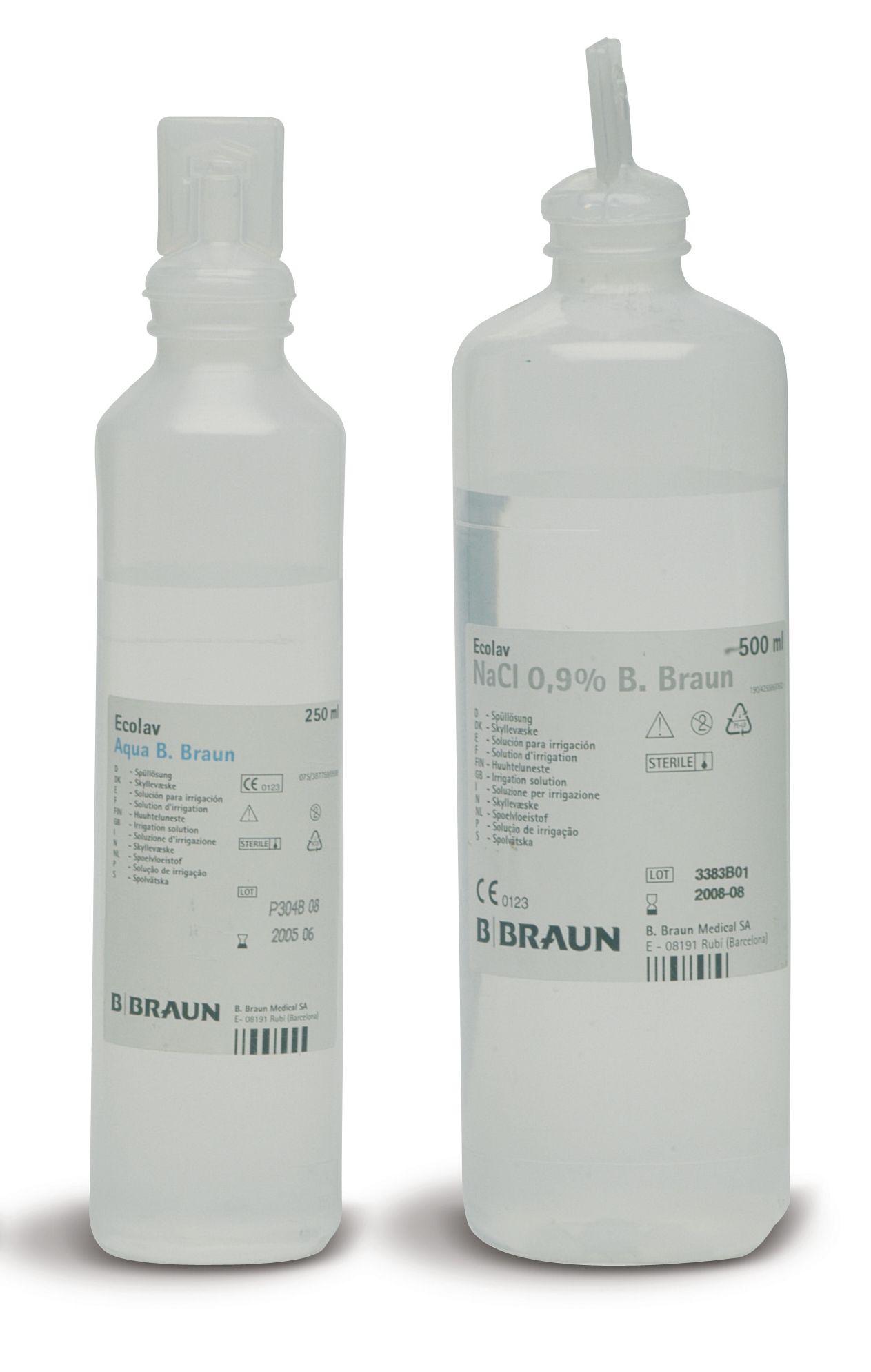 Soluzione fisiologica sodio di cloruro 500ml SOL004 8033406501088