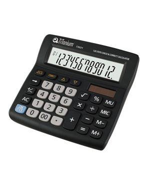 Calcolatrice da tavolo 12 cifre 73031 titanium CD2706-12RP_73031 by Titanium
