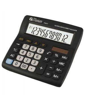 Calcolatrice da tavolo 12 cifre 73031 titanium CD2706-12RP 8025133026736 CD2706-12RP_73031