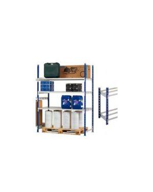 Scaffale 3 ripiani in metallo 100x60cm   h200cm kit iniziale K603160_68254