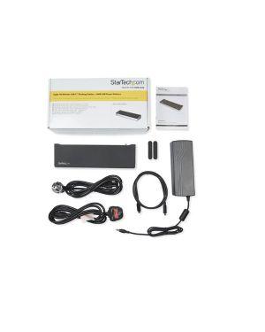 Dock per triplo monitor 4k Startech DK30CH2DEPUE 65030880015 DK30CH2DEPUE
