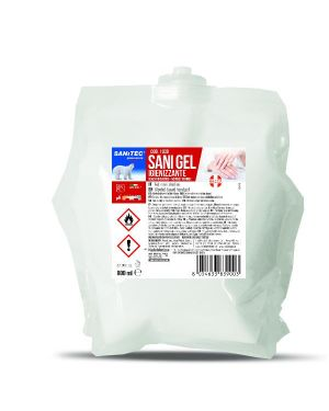 sanigel mani igienizzante 800ml Sanitec 1039-S  1039-S