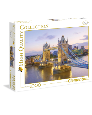 Puzzle 1000 pz Tower Bridge - Clementoni 39022B 8005125390229 39022B