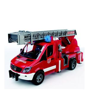 Autopompa pompieri mercedes benz con luci e suoni 02532_500438