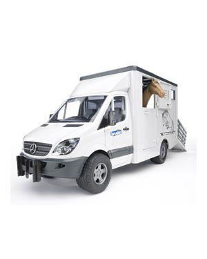 Furgone mercedes benz sprinter trasporto animali con 1 cavallo 02533_500439