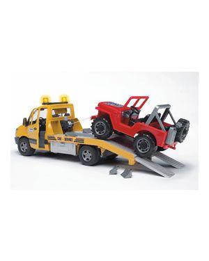Carroattrezzi mb sprinter trasporto jeep con luci e suoni 02535_500441