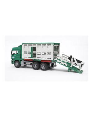 Camion man tgatrasporto bestiame con 1 mucca 02749_500445