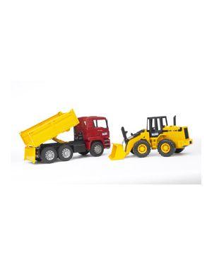 Camion man tga con ruspa a pala meccanica fr 130 02752_500447