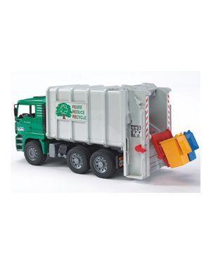 Camion man tga trasporto rifiuti caricam.Posteriore 02764_500449
