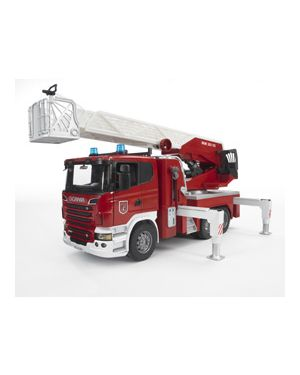 Autopompa pompieri scania r series con luci e suono 03590_500472