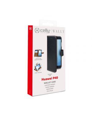 Wally case huawei p40 black Celly WALLY896 8021735757603 WALLY896