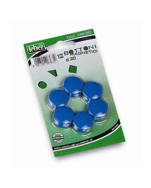 Blister 12 magneti dia20 mm Lebez MR-20-B 8007509002131 MR-20-B