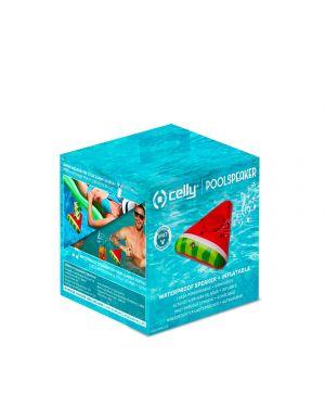 Pool speaker 3w watermelon Celly POOLWMELON 8021735757757 POOLWMELON