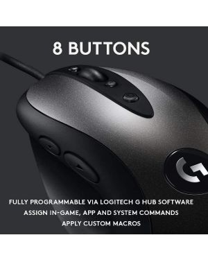 G mx518 gaming mousesd Logitech 910-005545 5099206082069 910-005545