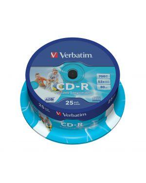 Verbatim cd-r azo wide inkjet printable 43439_2990767
