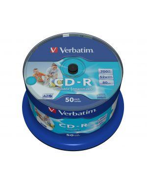 Verbatim cd-r azo wide inkjet printable 43438_2990769