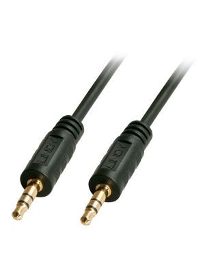 Cavo audio jack 3.5mm m - m  2m Lindy 35642-LND 4002888356428 35642-LND