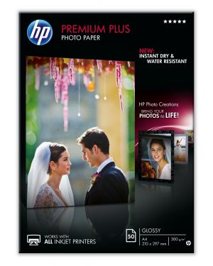 Premium plus glossy photo paper HP - INKJET SUPPLY NON CENTRAL (1N) CR674A 886111138890 CR674A_943476L