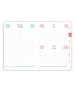 Agenda pastel blu c - elastico Quo Vadis 1281616Q 3371010441785 1281616Q