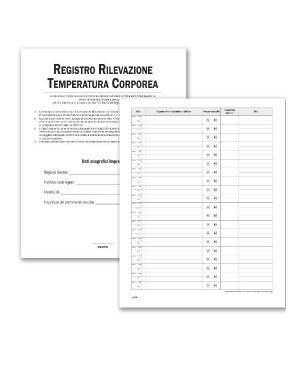 reg.rilevaz.temperatura covid19 Data Ufficio DU3219TC100  DU3219TC100