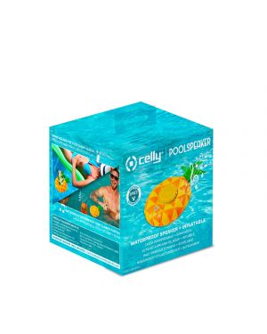 Pool speaker 3w pineapple Celly POOLPINEAPPLE 8021735757764 POOLPINEAPPLE by No