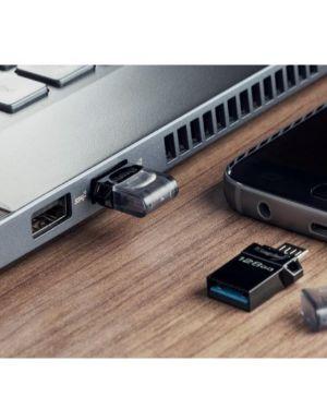128gb dt microduo3 gen2+microusb Kingston DTDUO3G2/128GB 740617306750 DTDUO3G2/128GB