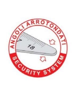 Squadra alluminio profil 45°cm 25 Arda 18026 8003438180261 18026